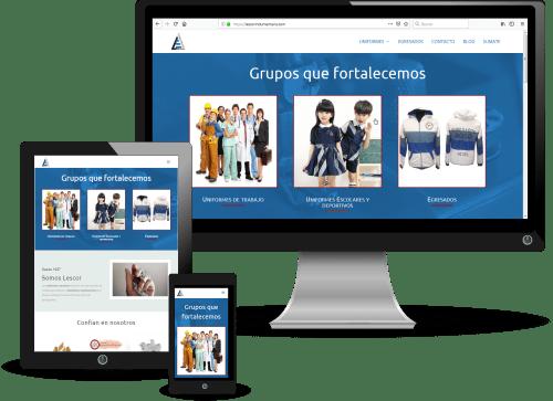 diseño y optimizacion en sitio web de imprimibles